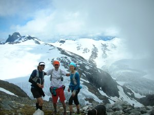Geoff Roes, Guy Thibedeau, myself